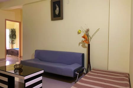 chic styled flat+great view+self check in+ 2bhk
