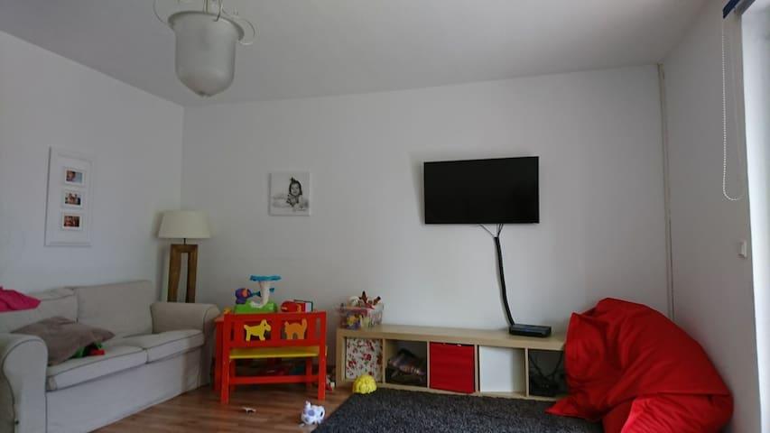 Für kurze Trips am Wochenende Heidelberg Darmstadt - Darmstadt - Appartement