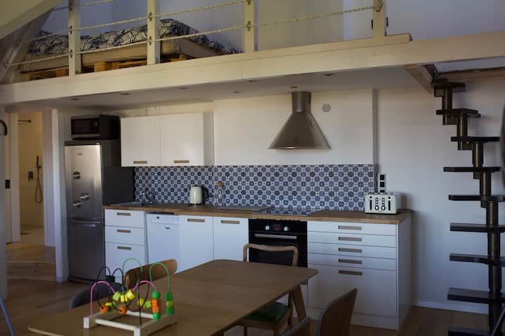 Sopot Boutique Attic Apartment