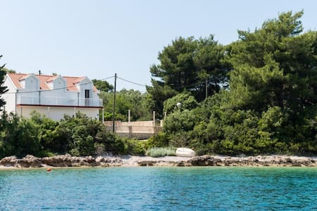 Apartment & Room Maćus - One Bedroom Apartment with Shared Balcony and Sea View