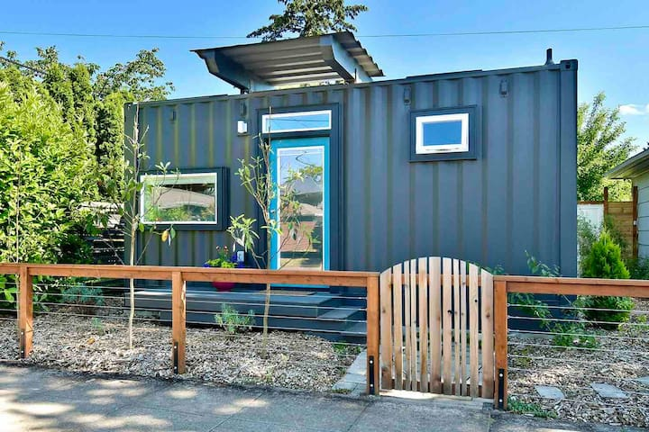 Unique SE Container House with private deck
