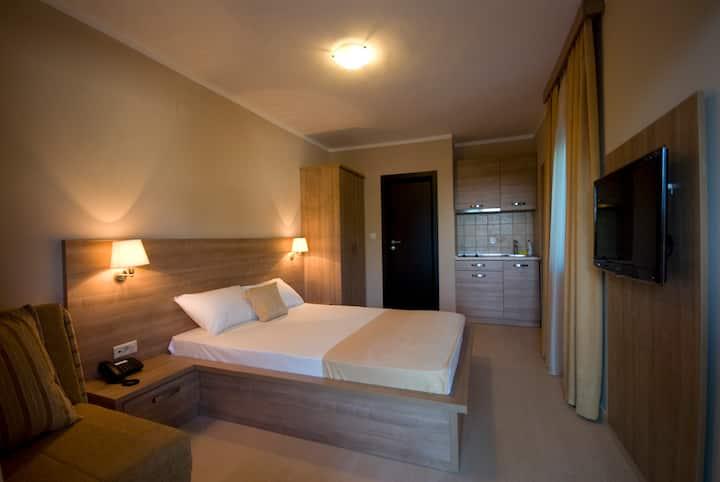 Three bed studio apartment