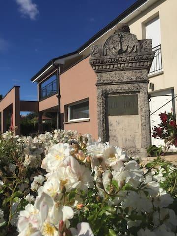 la villa des roses blanches - Cosnes-et-Romain - House