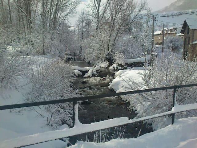 En invierno junto al Molino