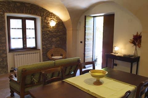 Casa Livia in old borgo of Lunigiana, Tuscany
