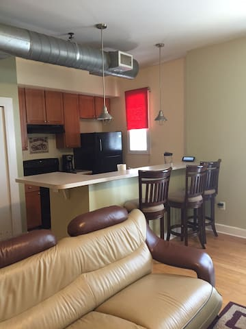 Downtown ATLANTA CONDO 10min from all  attractions - Atlanta - Appartement en résidence