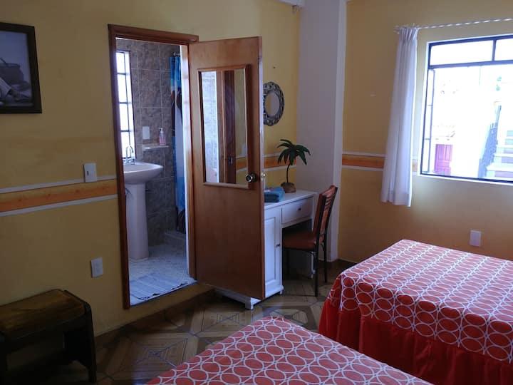 Habitacion en el centro de Taxco.