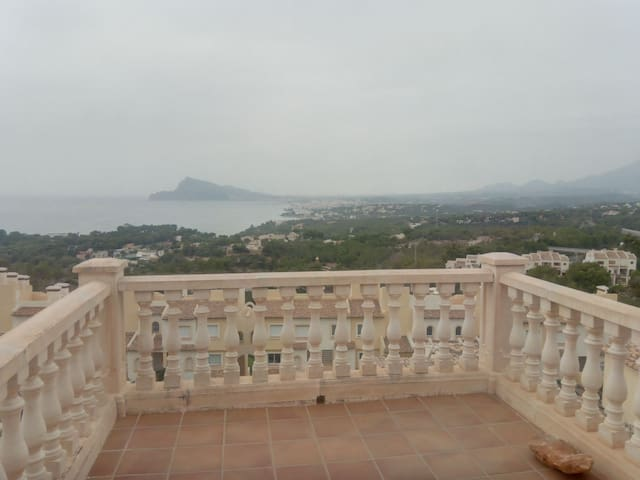 Bungalow in altea with great wiew