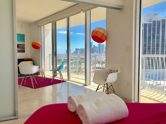 ^2 Bedroom Apt -  Love Pop Miami