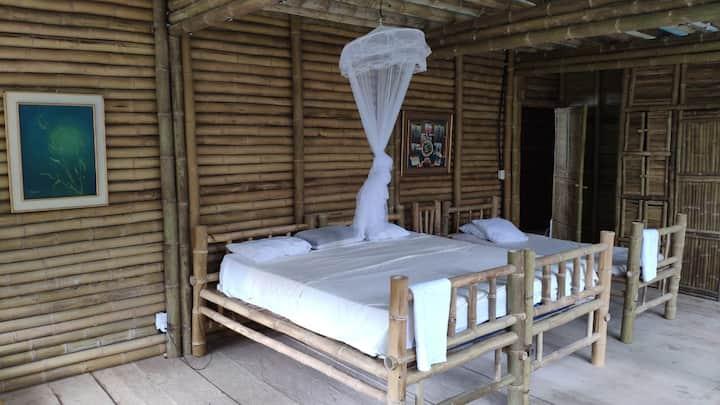 Wübu Eco-Hotel, private family room