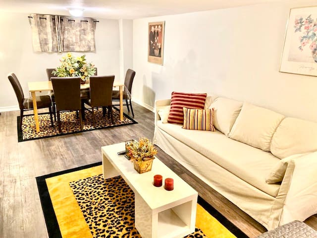 Private Basement APT with its own Entrance/Parking