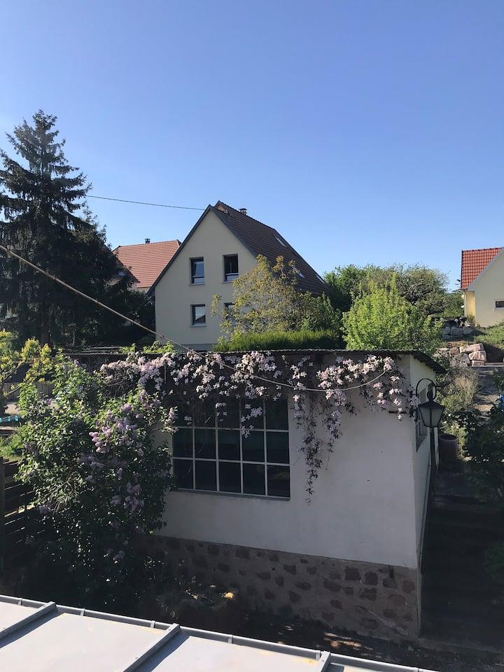 Belle maison bourgeoise entre nature et ville