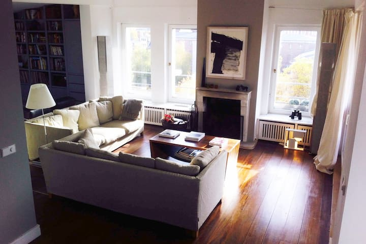Boutique Rooftop Apartment 1237 sqf in City West - Berlín - Loft