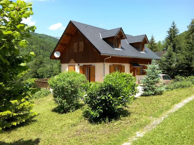 Cozy independent chalet park of Chartreuse SAVOIE