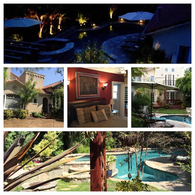 California Small Houses With Pools: Beautiful Home W/pool Toluca BR#1