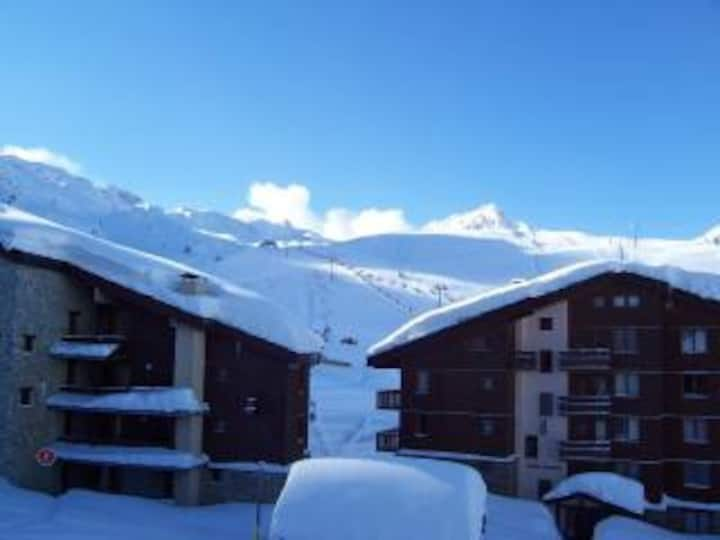 Ski appartment in the heart of Belle Plagne