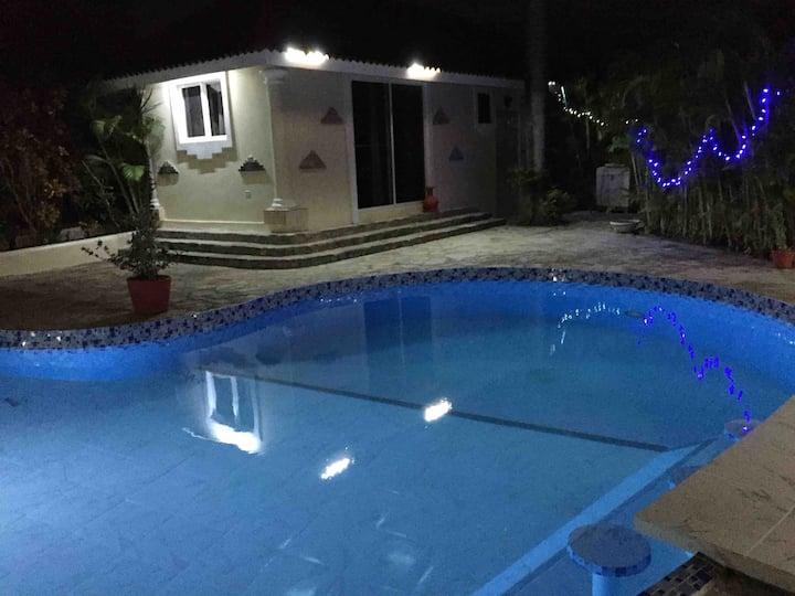TRANQUILLE ET SÉCURISE avec piscine