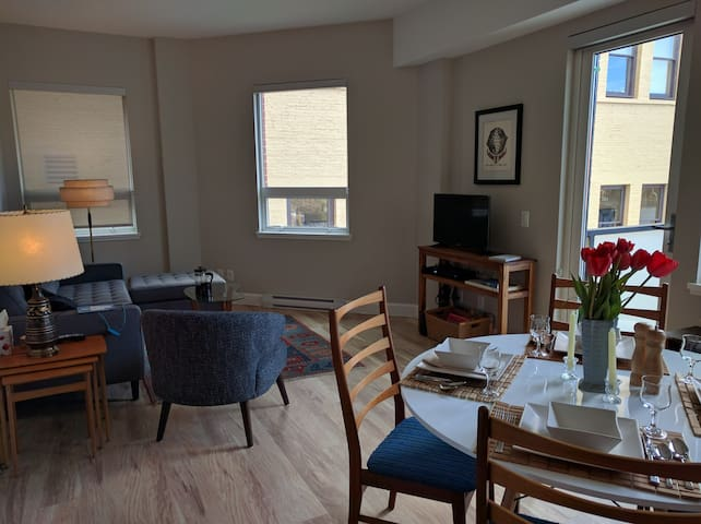 Stylish Condo in Historic District  w/free Parking - Victoria - Appartement en résidence