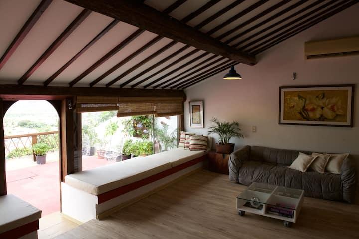 Irradiante - Apartamento Com Terraço