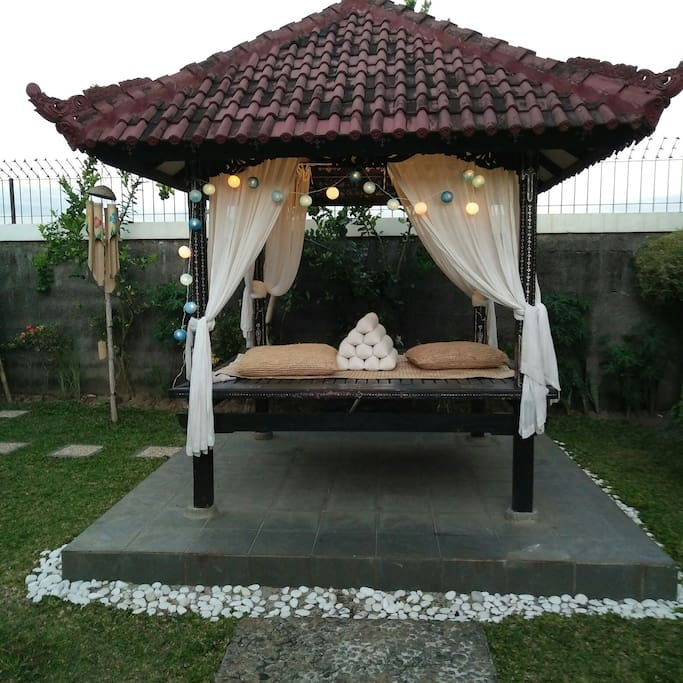 Welcome to relax in the garden
