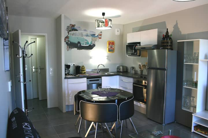 Bassin Arcachon very nice new apartment of 42m2