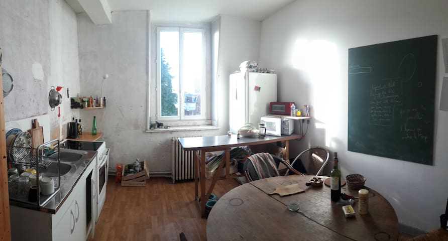 appartement hyper centre Lille chambre silencieuse