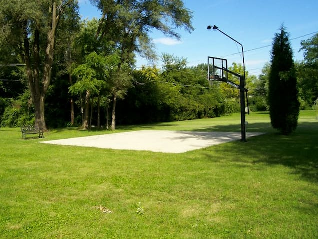 Basketball Court and Spectator Seating