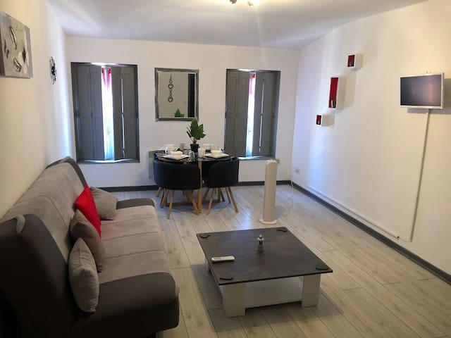 Joli appartement dans immeuble Bourgeois sécurisé
