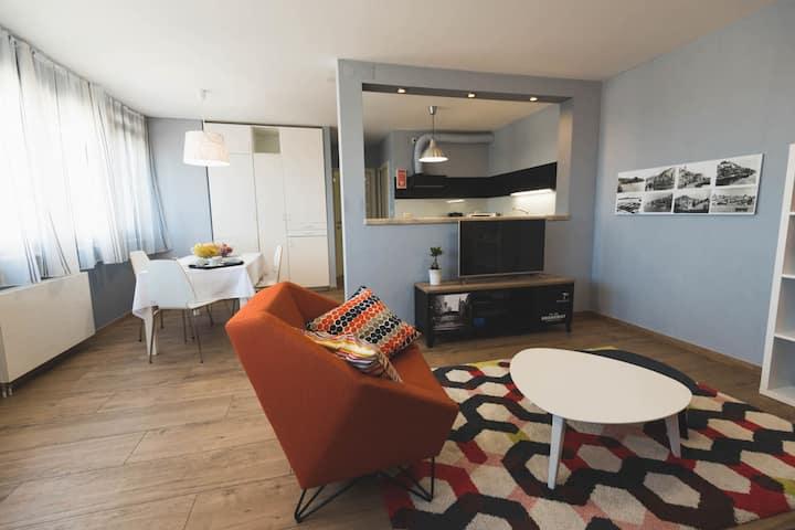 Appartement spacieux à Šibenik avec terrasse