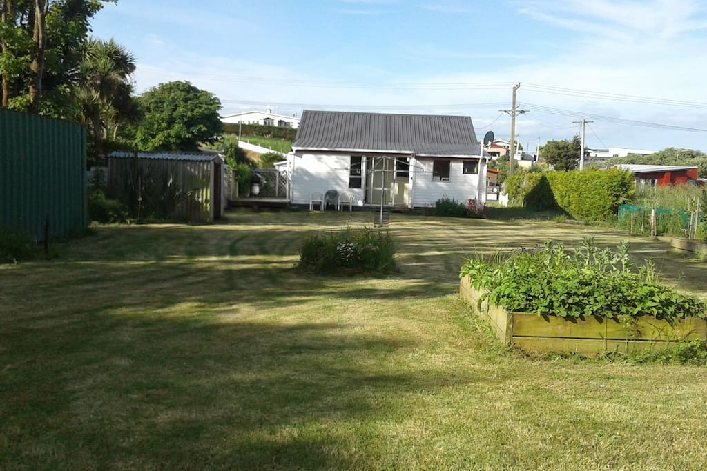 Garden at back of property