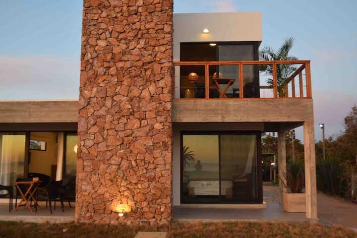 Beachfront and modern duplex at Casa del Mar