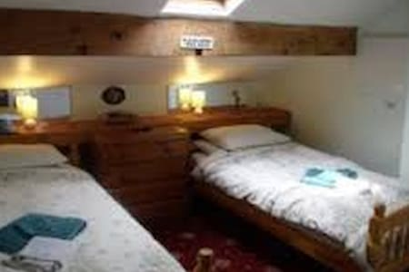 Twin en-suite room 2 (near the Winter Gardens - 布萊克浦(Blackpool)