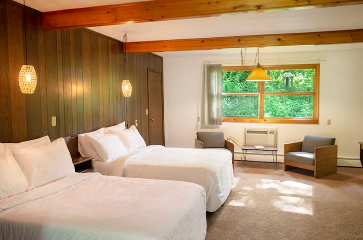 Treman Lodge Double (Grayhaven Motel - Rm #20)