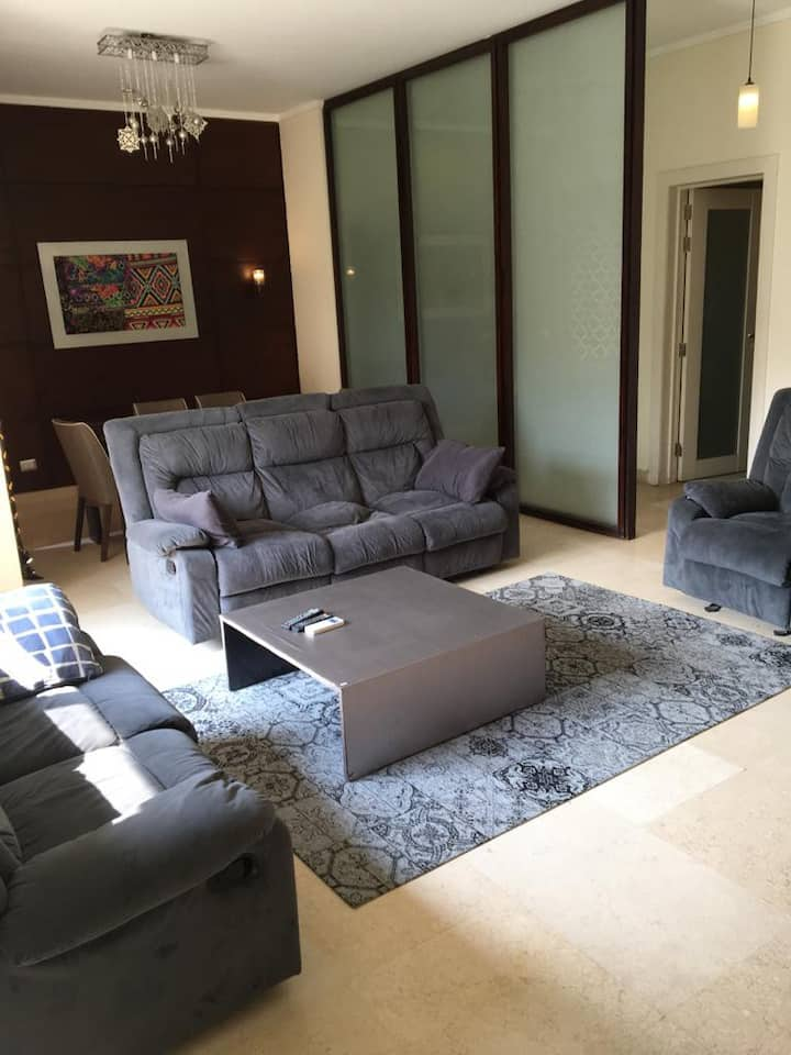 2 Bedroom Unit For Rent In the Village New Cairo .