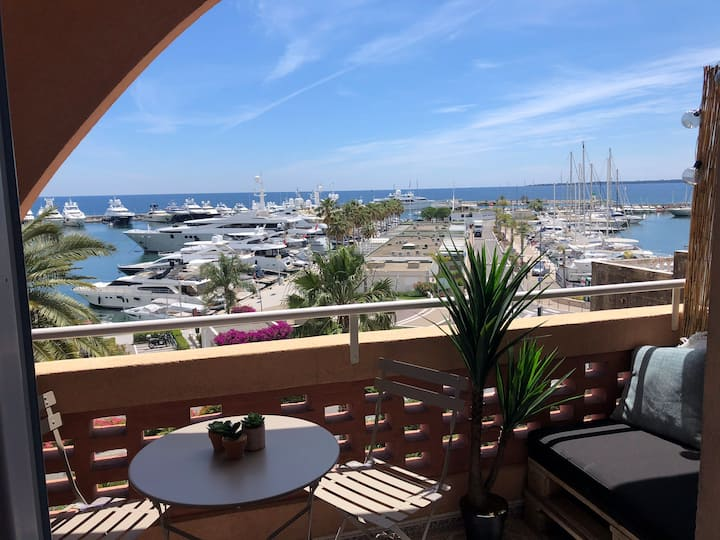 Studio sea view, Golfe Juan, 4 personnes
