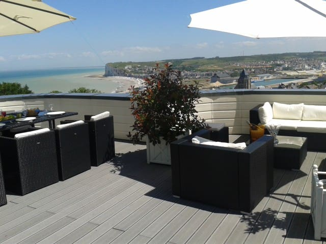 Beautiful room with Sea view  - Le Tréport - 旅舍