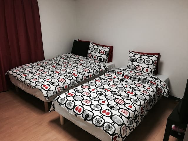 【Tomato】1min Shinjuku3Chomae St.+ Paid pocket wifi - Shinjuku-ku - Appartement