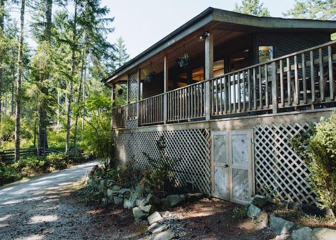 Blue Ewe B&B: Forest, Beach, Sauna, & Privacy!
