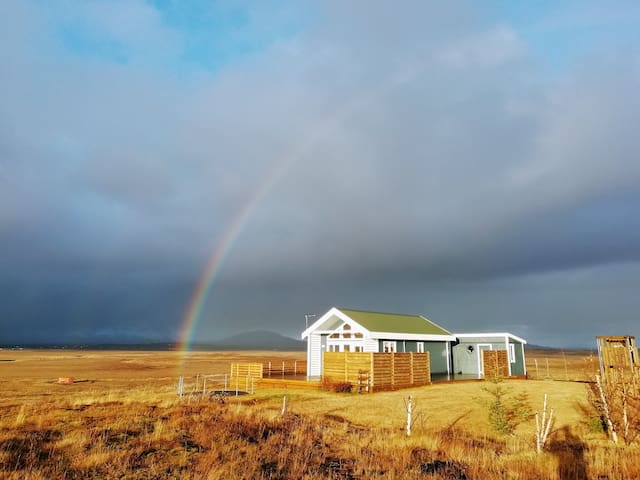 The Little Blue House - Golden Circle