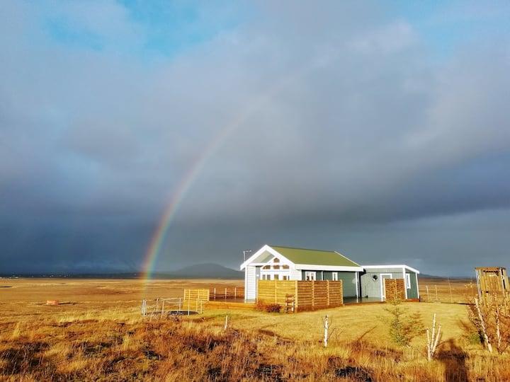 The Little Blue House - Golden Circle