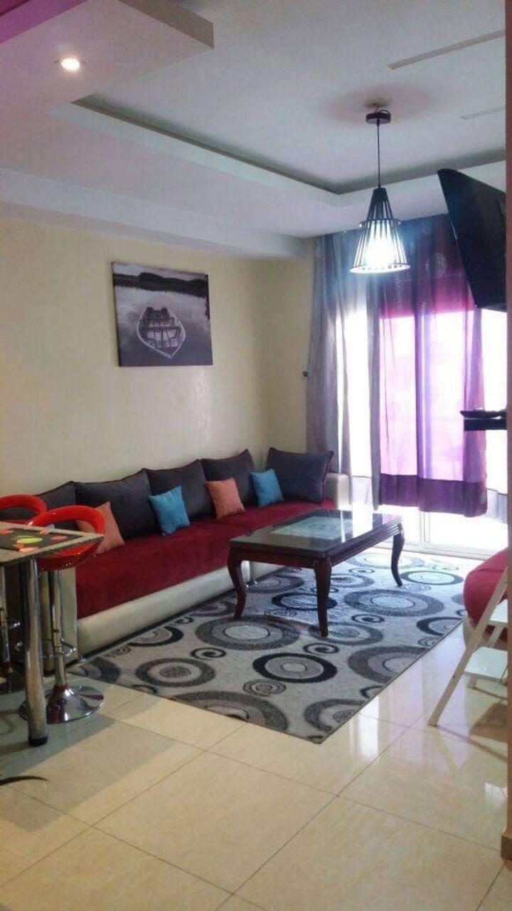Spacieux et moderne appartement à résidence islane