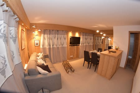 4 people flat at Megeve, 300m from slopes & golf - 梅傑夫