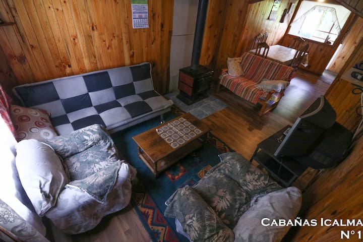 CABAÑAS ICALMA ~ Cabaña N° 1