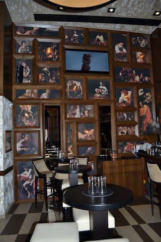 Umgebung Kaffee Caravaggio Rethymnon