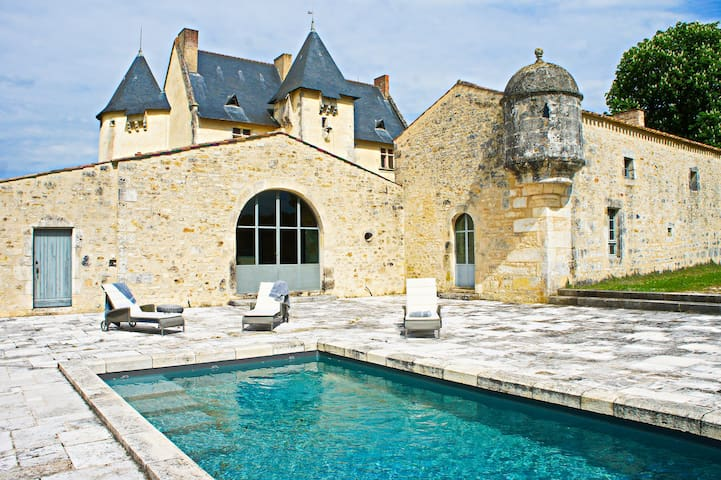 Live like kings and queens: luxury and calm - Soulignonne - Castell