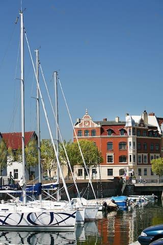 Zimmer mit vier Betten in Stralsund