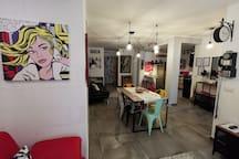 The black dog house : All NEW apt close to Bari