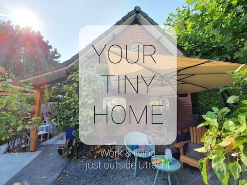 Your Tiny House, near Utrecht & free parking