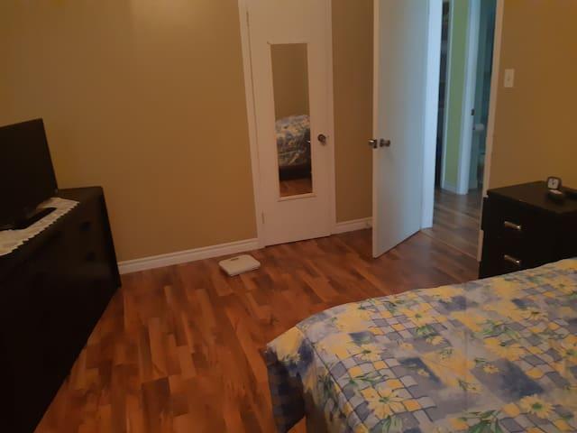 logement entier et tranquille