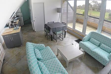 Appartement neuf en Bretagne, mer & rivière à pied
